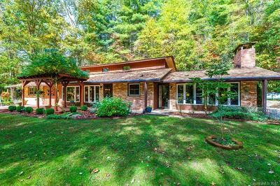 Transylvania County Single Family Home Under Contract-Show: 425 Robin Hood Road