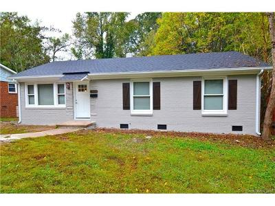 Charlotte NC Single Family Home For Sale: $179,900