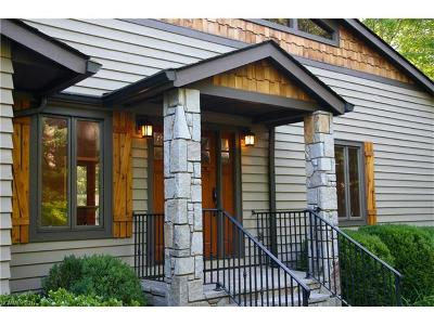 Lake Toxaway Single Family Home For Sale: 424 Cherokee Trace #50