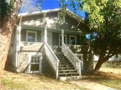 Asheville NC Single Family Home For Sale: $199,000