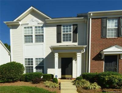 Charlotte Condo/Townhouse For Sale: 12571 Jessica Place