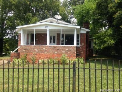 Charlotte Single Family Home For Sale: 1508 Hateras Avenue