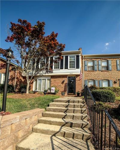 Charlotte Condo/Townhouse For Sale: 4343 Woodglen Lane