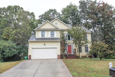 Charlotte Single Family Home For Sale: 9718 Whitewood Trail