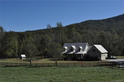 Mill Spring Single Family Home Under Contract-Show: 35 Lone Pine Drive
