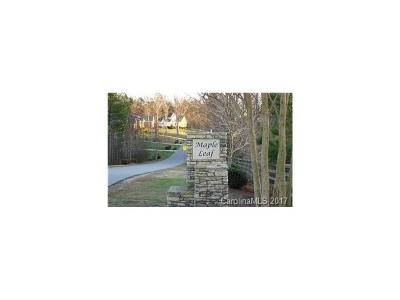 Residential Lots & Land For Sale: 16 Maple Spring Court #16