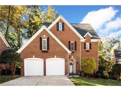 Charlotte Single Family Home For Sale: 3708 Eastover Hills Court
