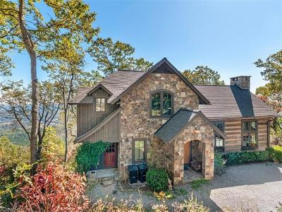 Bat Cave, Black Mountain, Chimney Rock, Lake Lure, Rutherfordton, Union Mills, Bostic, Mill Spring, Columbus, Tryon, Saluda Single Family Home For Sale: 1616 White Oak Mountain Road