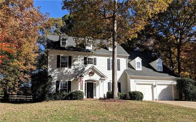 Mint Hill Single Family Home Under Contract-Show: 7101 Plough Drive