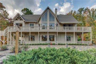Lake Lure Single Family Home For Sale: 500 Matho Trace