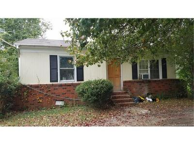 Kannapolis Single Family Home For Sale: 2540 Oakwood Avenue
