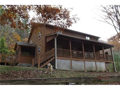 Transylvania County Single Family Home For Sale: 438 Bye Leaf Cove Road #8
