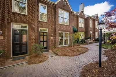 Charlotte Condo/Townhouse For Sale: 2220 Roswell Avenue #H