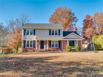 Charlotte Single Family Home For Sale: 7824 Old North Court