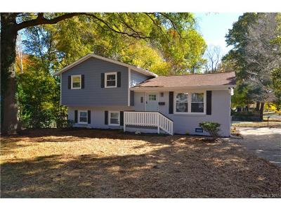 Charlotte Single Family Home For Sale: 3726 Dunwoody Drive