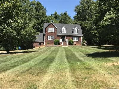 Cabarrus County Single Family Home For Sale: 9707 Bowman-Barrier Road