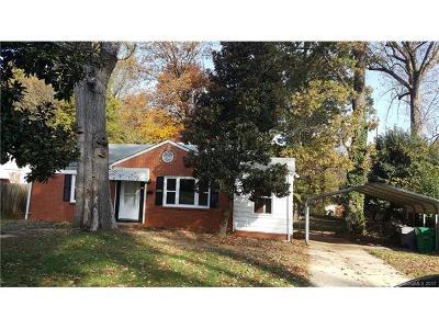 Charlotte Single Family Home For Sale: 2211 Orton Street
