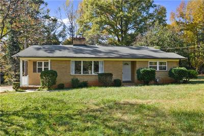 Charlotte NC Single Family Home For Sale: $176,000