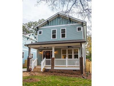 Charlotte Single Family Home For Sale: 221 Coxe Avenue