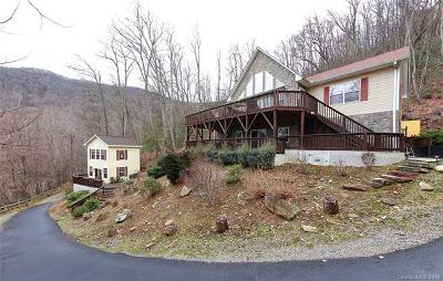 Waynesville Single Family Home For Sale: 160 Flying Hawk Trail