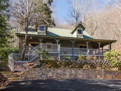 Waynesville Single Family Home For Sale: 442 Ginseng Hollow Lane