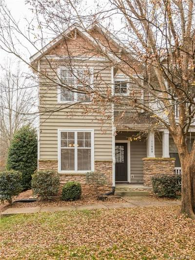 Charlotte NC Condo/Townhouse For Sale: $170,000