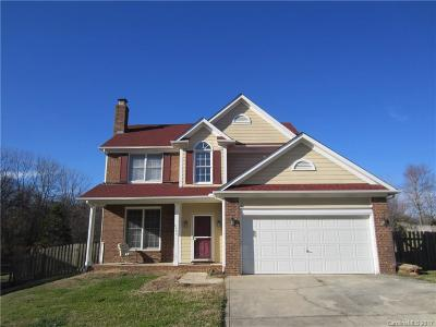 Charlotte Single Family Home For Sale: 8809 Willow Crest Drive