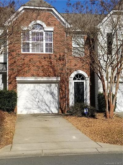 Charlotte NC Condo/Townhouse For Sale: $125,000
