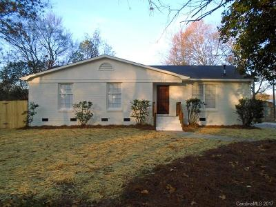 Charlotte NC Single Family Home For Sale: $192,900