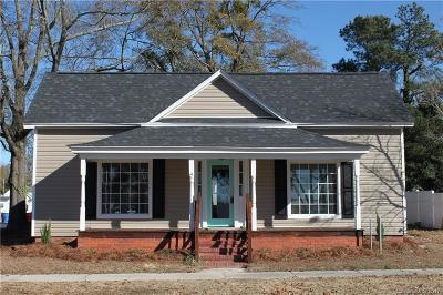 Pageland SC Single Family Home For Sale: $119,900