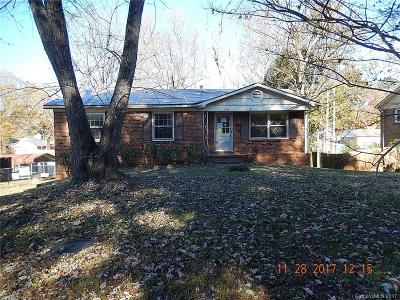 Charlotte NC Single Family Home For Sale: $79,900