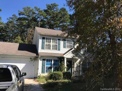 Charlotte NC Single Family Home For Sale: $127,000