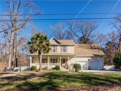 Charlotte Single Family Home For Sale: 6523 Riverview Drive #6