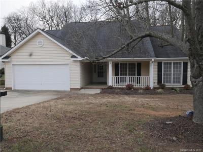Concord NC Single Family Home For Sale: $175,000
