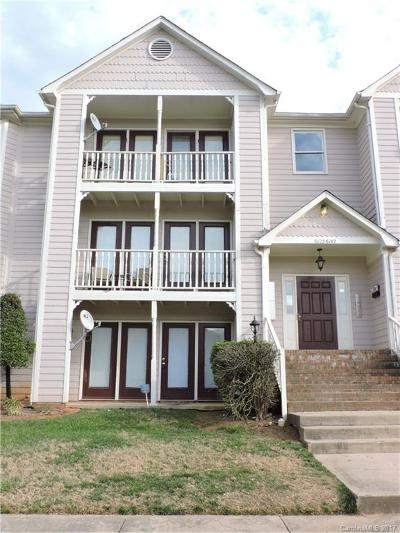 Charlotte NC Condo/Townhouse For Sale: $59,000