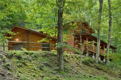 Maggie Valley Single Family Home Under Contract-Show: 26 Tawodi Trail