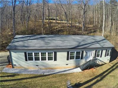 Candler Single Family Home For Sale: 342 Hookers Gap Road