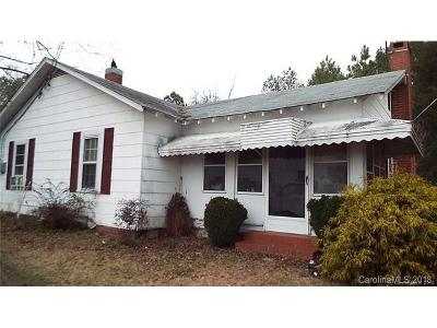 Mount Gilead NC Single Family Home For Sale: $56,000
