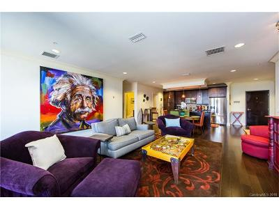 Charlotte Condo/Townhouse For Sale: 222 S Caldwell Street #1701