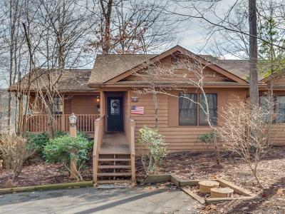 Bat Cave, Chimney Rock, Columbus, Gerton, Lake Lure, Mill Spring, Rutherfordton, Saluda, Tryon, Union Mills Condo/Townhouse For Sale: 106 Appledore Court #7