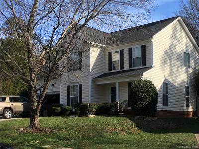Mecklenburg County Single Family Home Under Contract-Show: 13819 Hatton Cross Drive