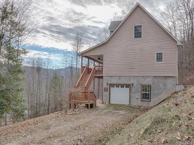 Bryson City Single Family Home For Sale: 77 Pigeon Creek Trail