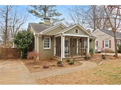 Charlotte Single Family Home For Sale: 2314 Chesterfield Avenue