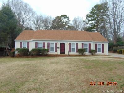 Single Family Home For Sale: 1512 Cedarwood Lane