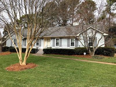 Charlotte Single Family Home Under Contract-Show: 6410 Folger Drive