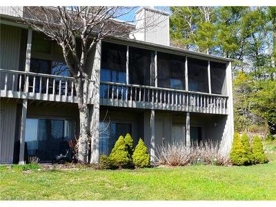 Condo/Townhouse For Sale: 24 E Toxaway Shores Drive #21
