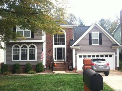 Charlotte NC Single Family Home Under Contract-Show: $349,900