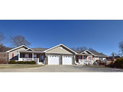 Leicester Single Family Home For Sale: 3283 New Leicester Highway