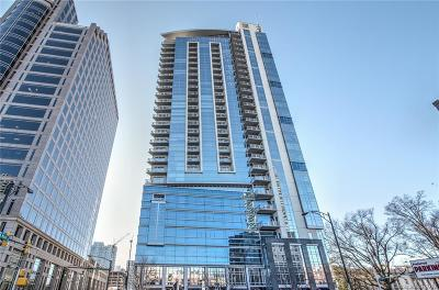 Charlotte Condo/Townhouse For Sale: 333 Trade Street #1800