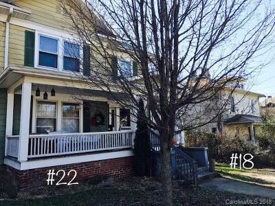 Asheville Single Family Home Under Contract-Show: 18 & 22 Arlington Street